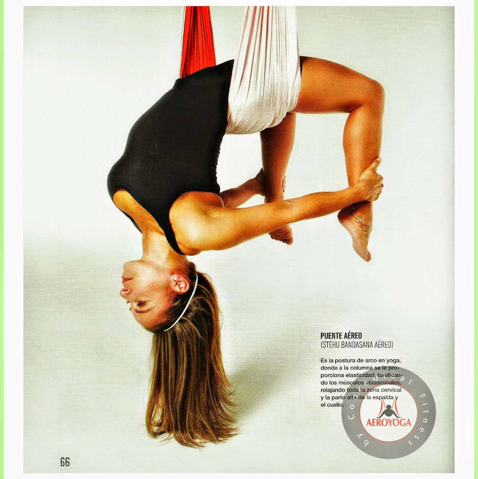 Método AeroYoga®: Yoga Aéreo en Columpio conSusana Revista Bodytech