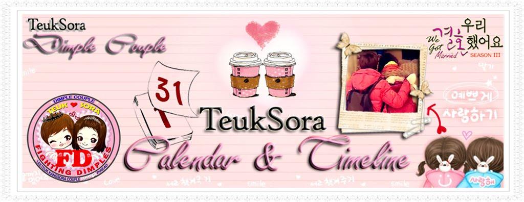 TeukSora Timeline & Calendar
