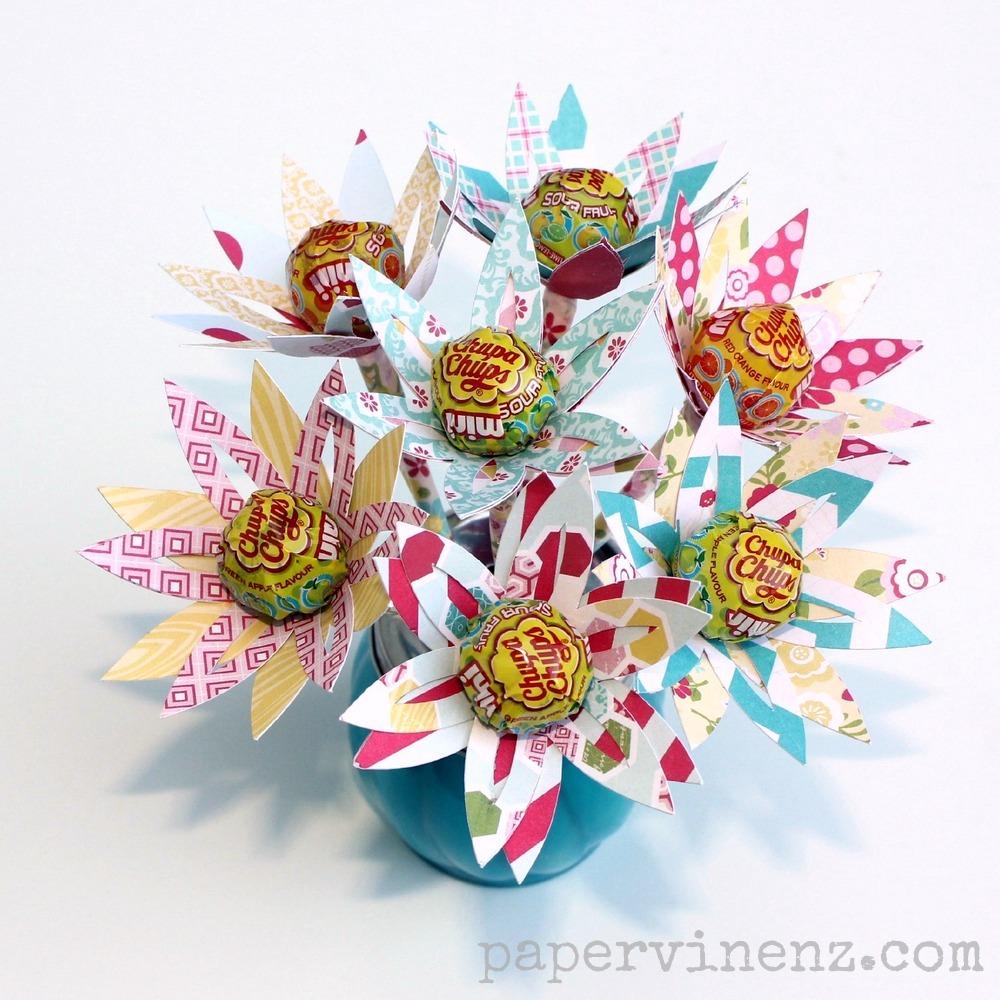 Lollipop Flowers Perfect For Easter Echo Park Papervine