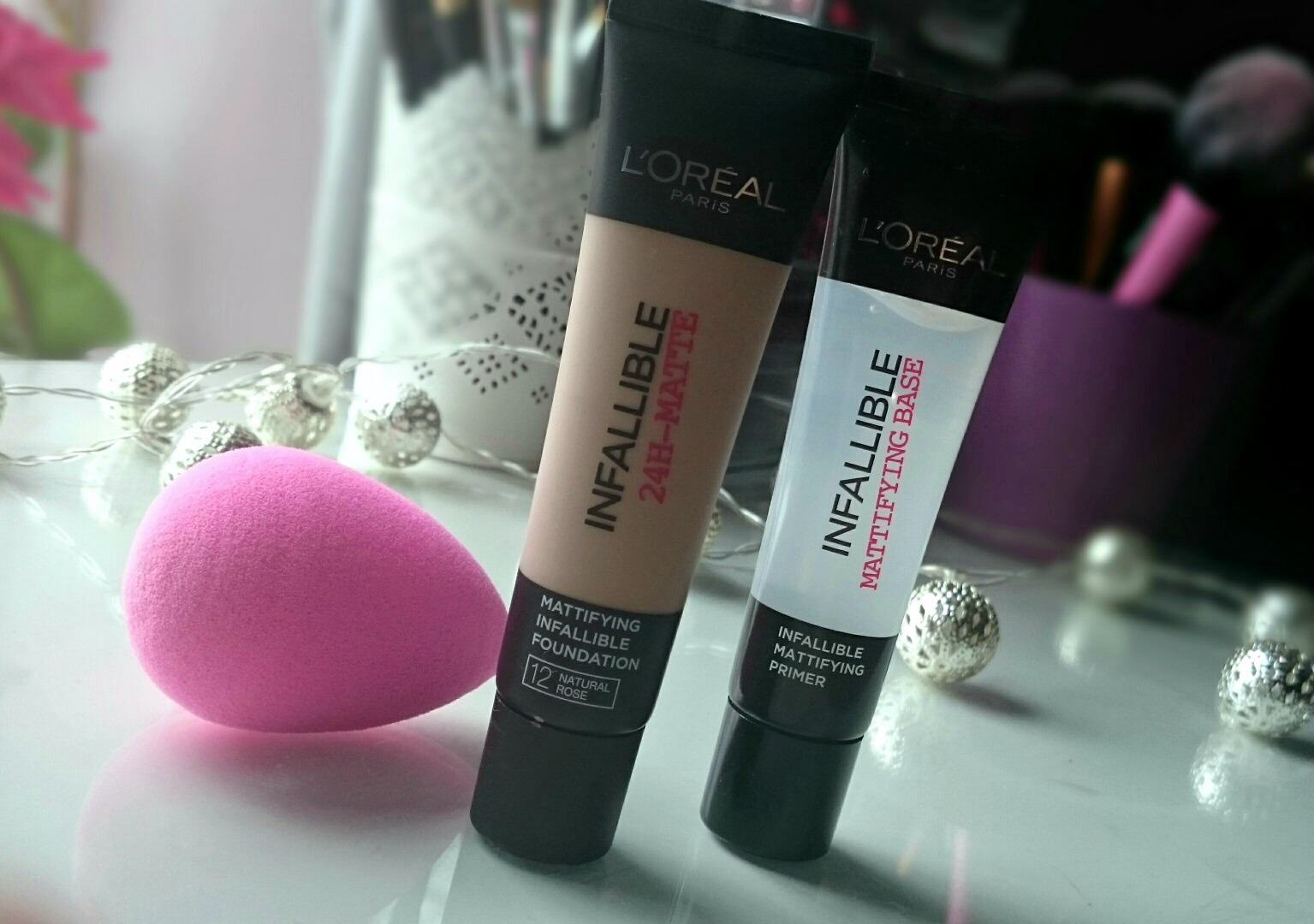L'Oreal Infallible mattifying Foundation