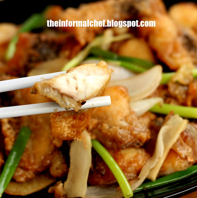 The Informal Chef: Ginger and Scallion Fish Slices 姜葱鱼片