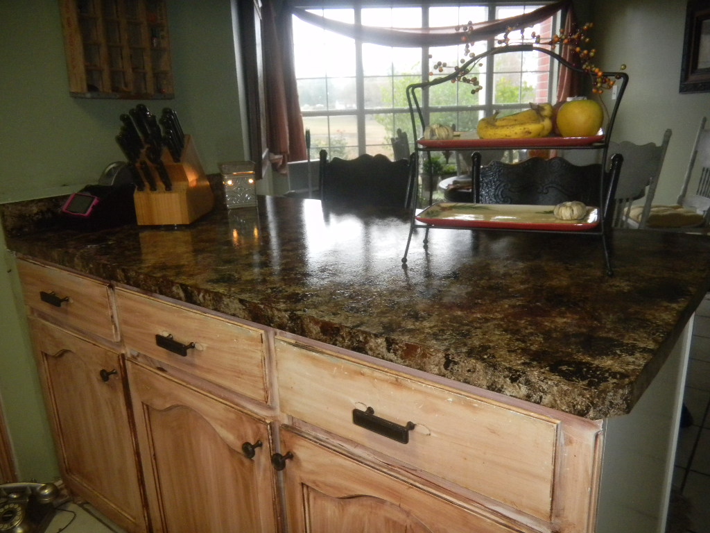 Dittodecorating Faux Granite Countertops