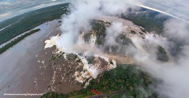 Ảnh đẹp thiên nhiên hùng vỹ thác nước Iguazu