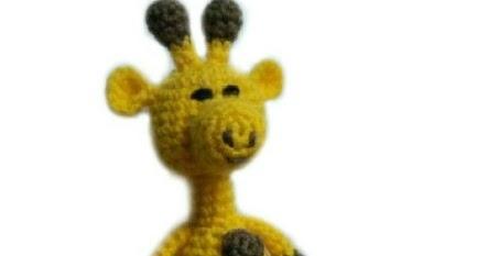 Amigurumitogo Giraffe : Little Bigfoot Giraffe Free Crochet Pattern ~ Amigurumi To Go