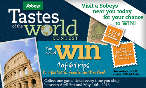 Sobeys Contest