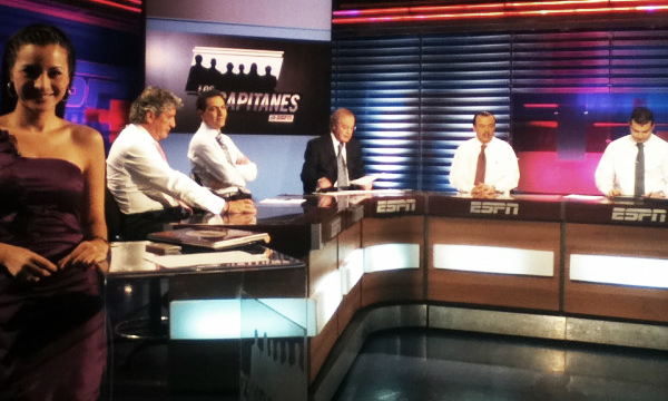 Kary Correa en el programa deportivo Los Capitanes de ESPN Deportes México | Ximinia
