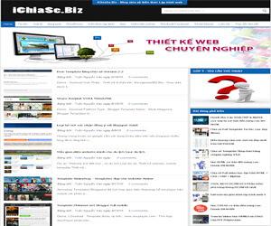 Template blogspot ichiase.biz v2, template blogspot giong ichiase.biz, chia se template ichiase là một trong những template blogspot đẹp được nhiều người thích dùng bởi tốc độ tải trang rất nhanh, với bố cục đơn giản, dễ dàng chỉnh sửa 2015.