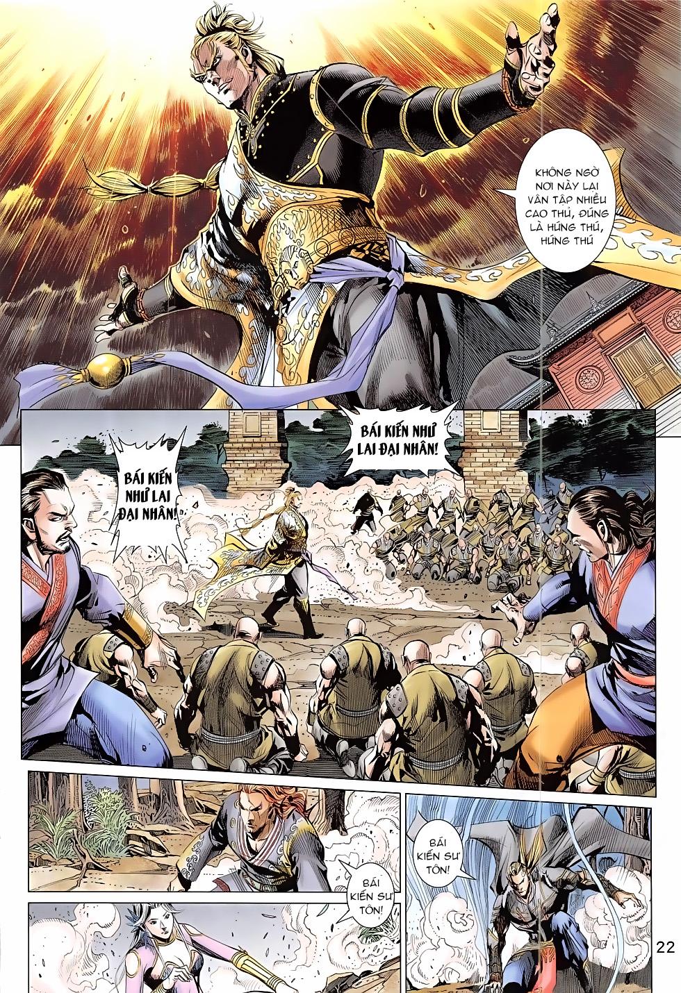Thần Chưởng trang 22