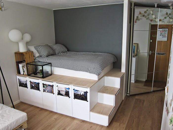 Mi rinc n de sue os hacer camas con espacio para almacenar for Camas con almacenaje