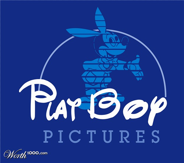 playboy disney logo