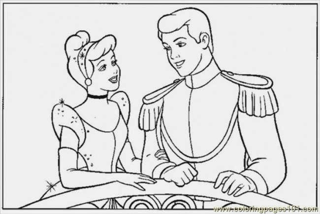 cinderella to draw print color cut and paste