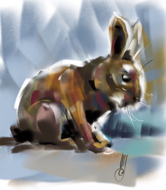 Rabbit by Artmagenta