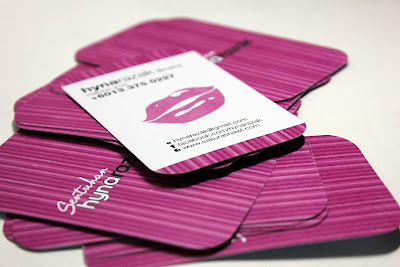 Design Business card Cantik