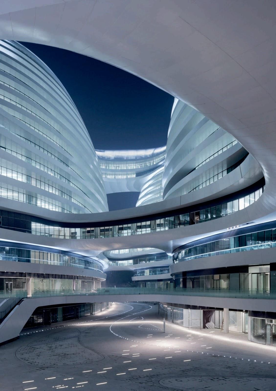 Galaxy soho by zaha hadid architects for Architecte hadid zaha