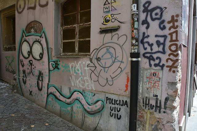 Graffiti Ljubljana