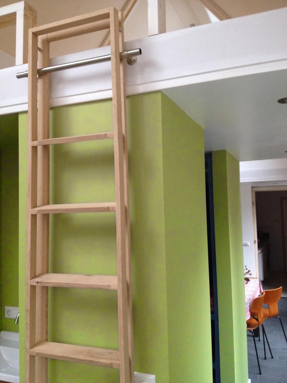 Ladder voor mezzanine - Mezzanine trap ...