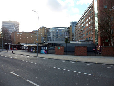The BBC TV Centre, due to close in late 2013.