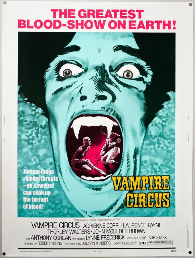 Vampire circus,: Robert Young, Vampire films, Horror films, Vampire movies, Horror movies, blood movies, Dark movies, Scary movies, Ghost movies
