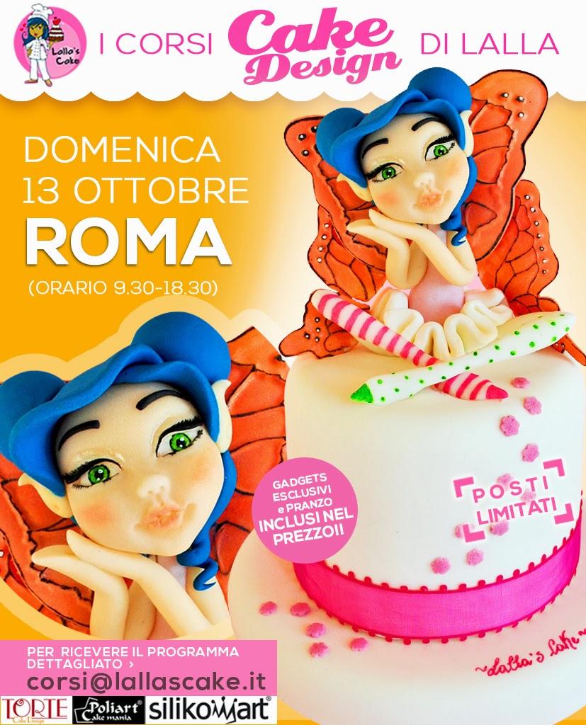 Corsi di cake design a roma lalla 39 s cake cake design for Corsi design roma