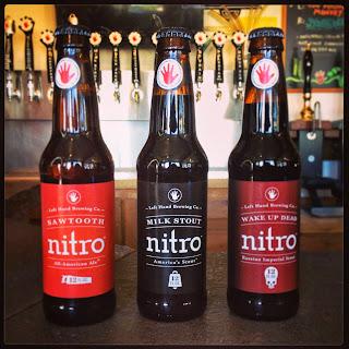 Left Hand Nitro beers