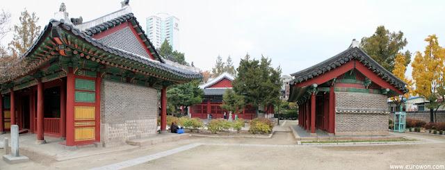 Santuario Dongmyo de Seúl dedicado a Guan Yu