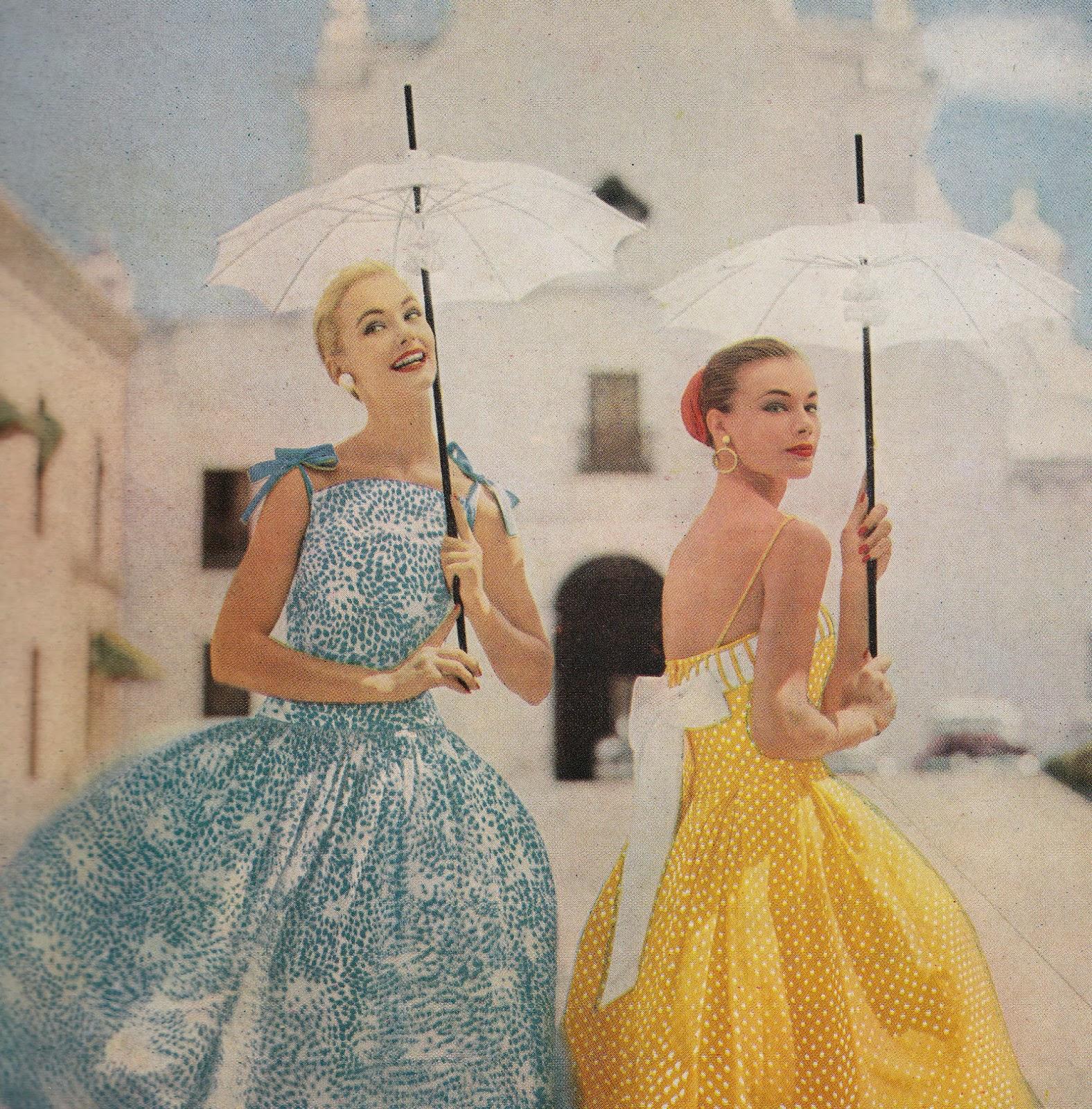 Love Fashion Love Vintage: Vintage Vogue 1957 Perfect For