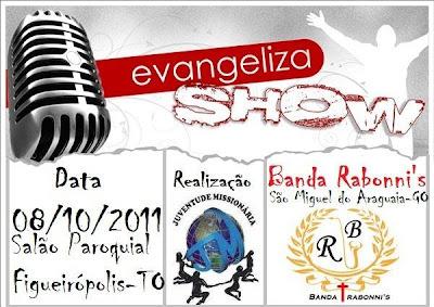 Evangeliza Show em Figueirópolis/TO