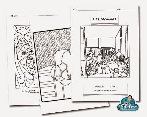RECURSOS PRIMARIA | Completo cuaderno con fichas de Plástica ~ La ...