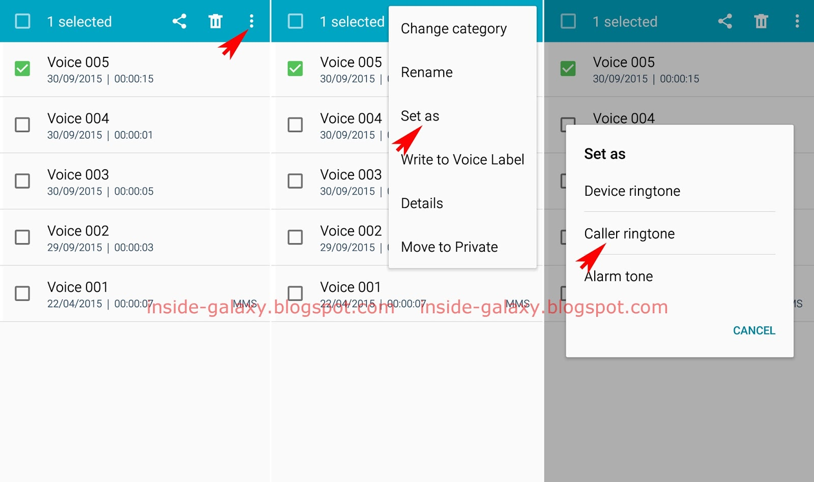 How To Assign Your Voice Recording As Caller Ringtone? You Can Record Your  Voice By