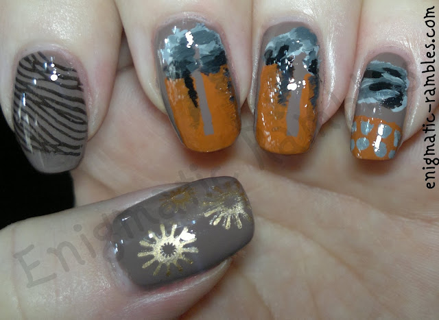 enigmatic-rambles-industrial-revolution-inspired-nails-nail-art-spinning-jenny-factory-time-period-challenge