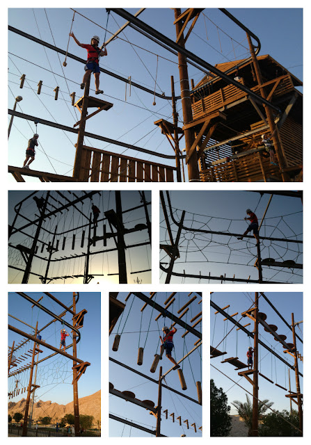 Wadi Adventure obstacle course