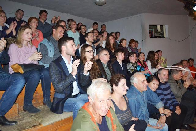 Работа сергиевопосадцев вызвала большой интерес у зрителей театральных фестивалей.