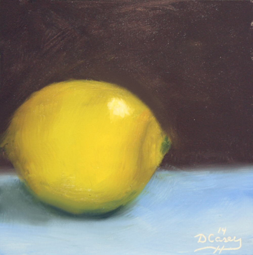140828 - Kitchen Painting - Lemon 004a 6x6 oil on gessobord - Dave Casey - TheDailyPainter.jpg