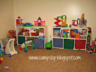 playroom toy organization organizing toys before