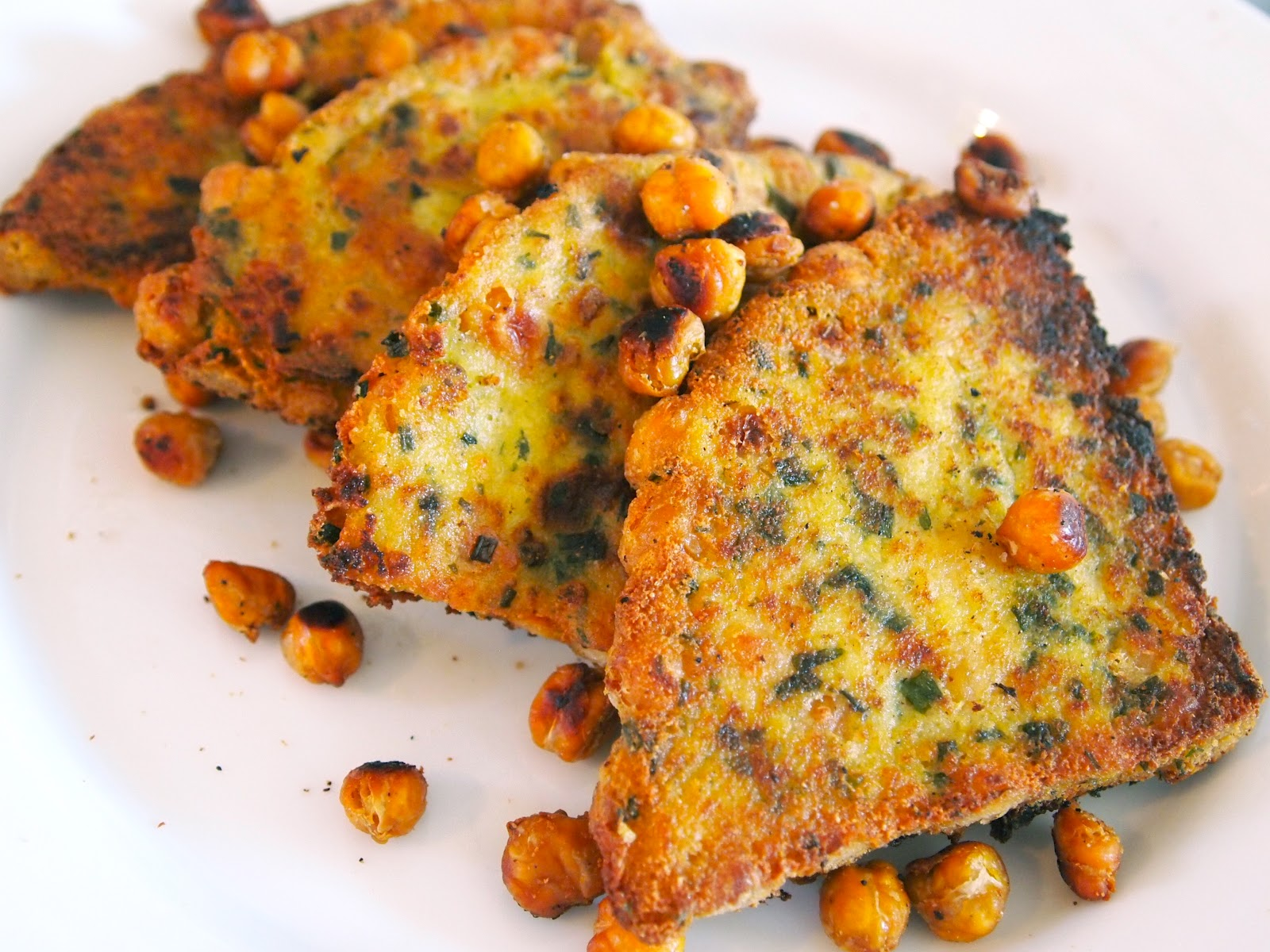 ... chickpea fritters chickpea salad fried chickpea polenta panelle