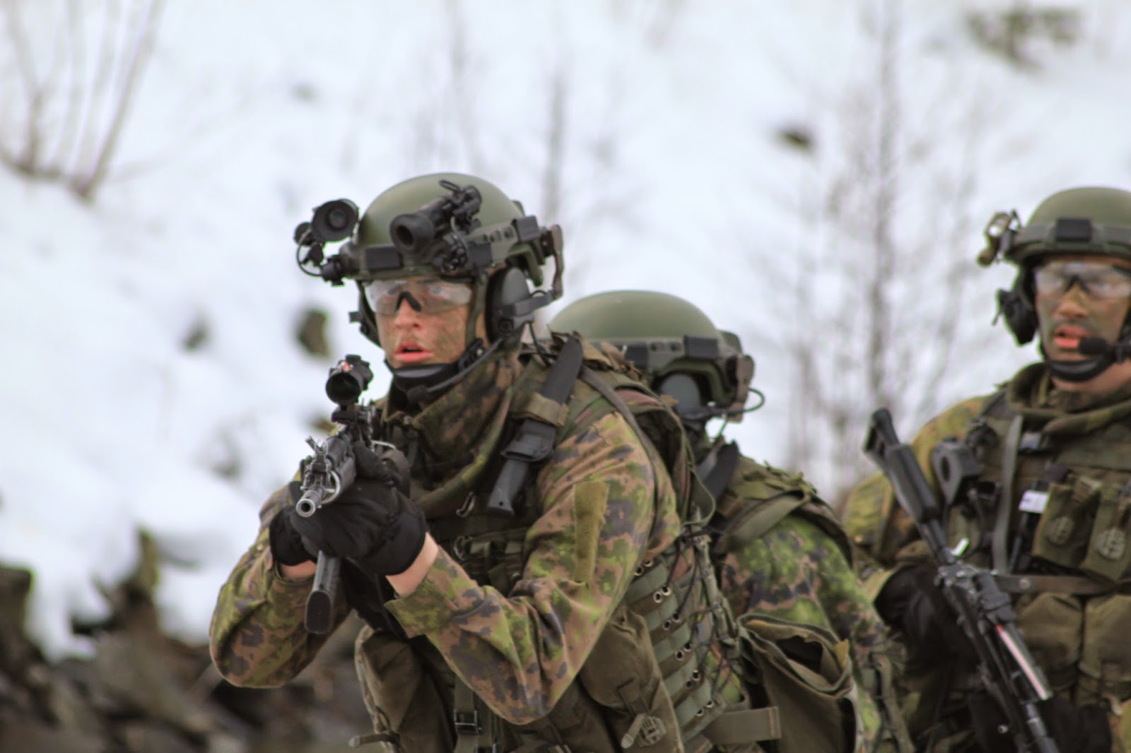 Finnish Special Forces with new Helmet System 2020 ...   1600 x 1066 jpeg 157kB