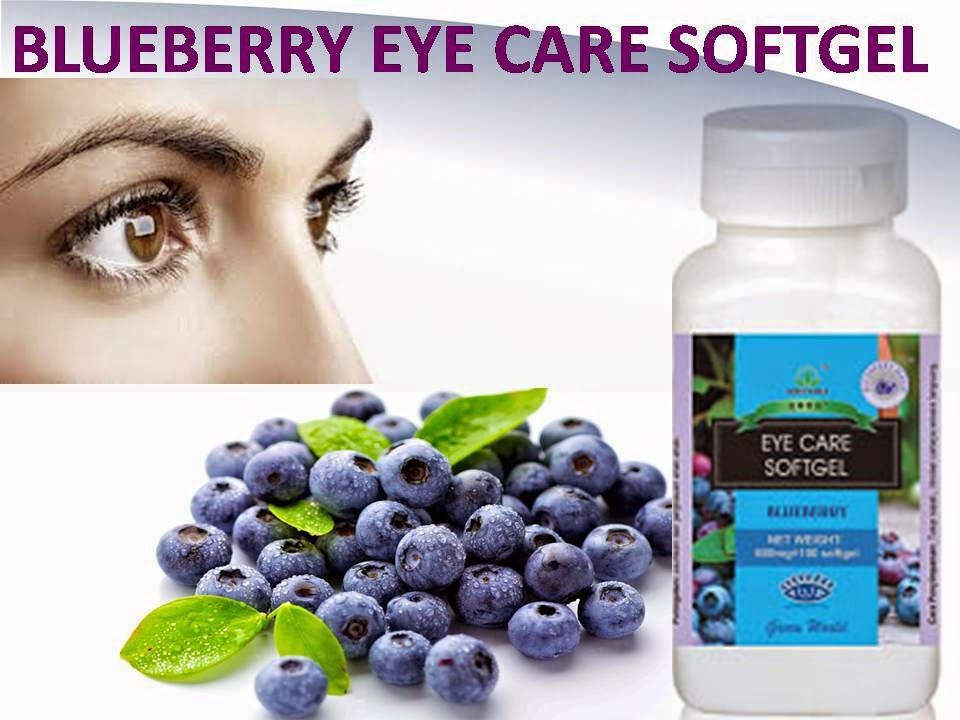 Obat Penyakit Mata Keratitis Herbal Eye Care Softgel