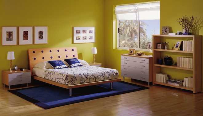 C mo pintar las paredes con colores vivos decorando mejor - Colores para paredes de dormitorios ...