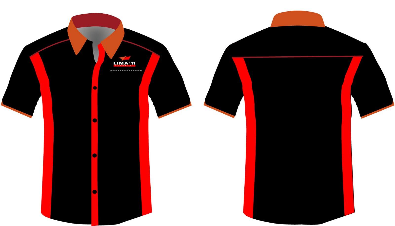 Corporate Shirt Design Template Vector