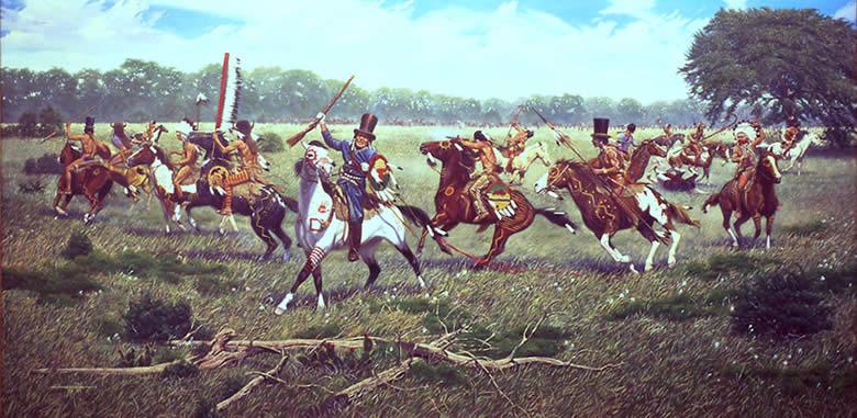 Battle of Plum Creek 1840