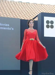 vestido-rojo-novias-sarmiento-fashion-week-larinconada
