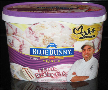On Second Scoop Ice Cream Reviews Blue Bunny I Do I Do Wedding