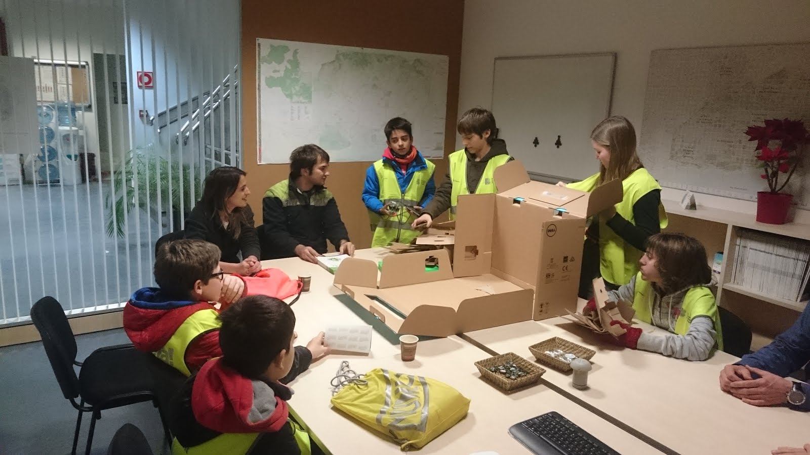 fll first lego league 2015 trash trek visita a urbaser