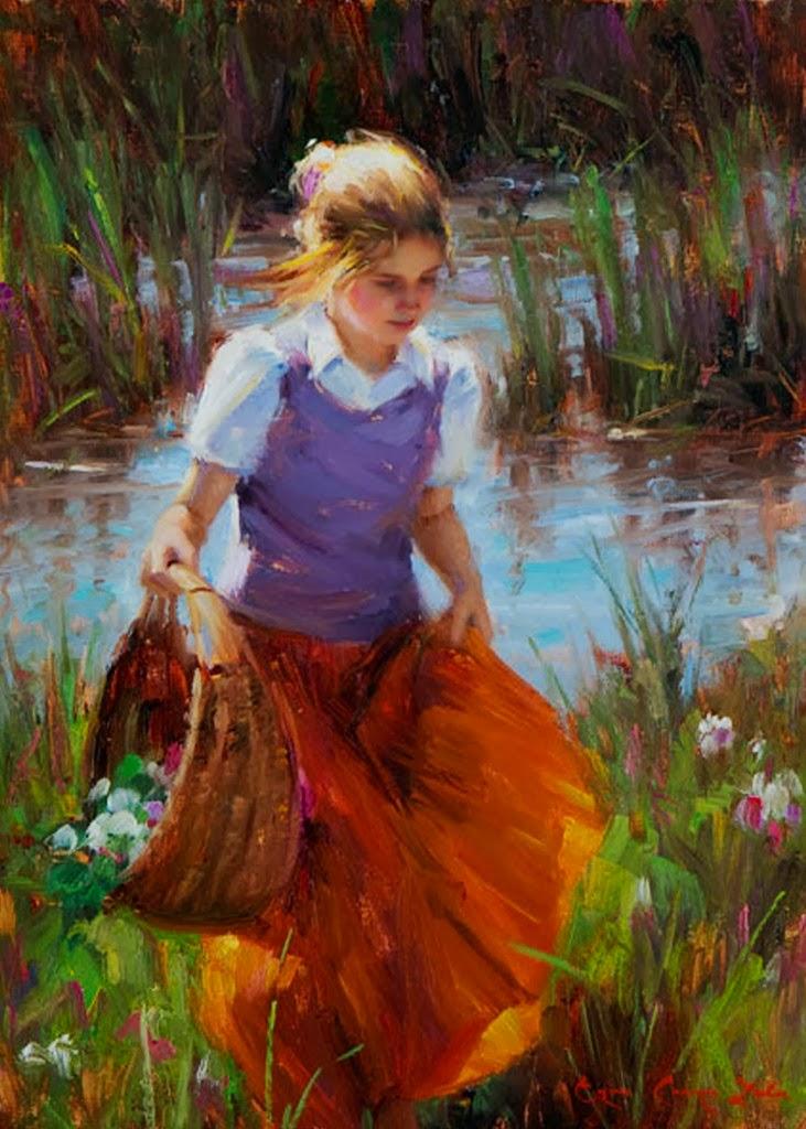 retratos-impresionistas-de-niñas