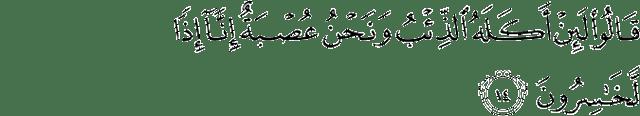 Surah Yusuf Ayat 14