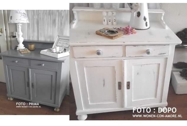 Shabby chic con amore casa shabby chic tutorial trasformazione com nello stile shabby chic - Dipingere vecchi mobili in legno ...