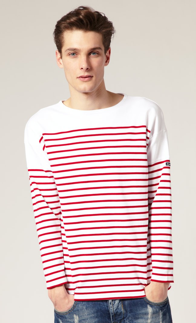 A Man Of Style Breton Stripes Tops A Classic Staple
