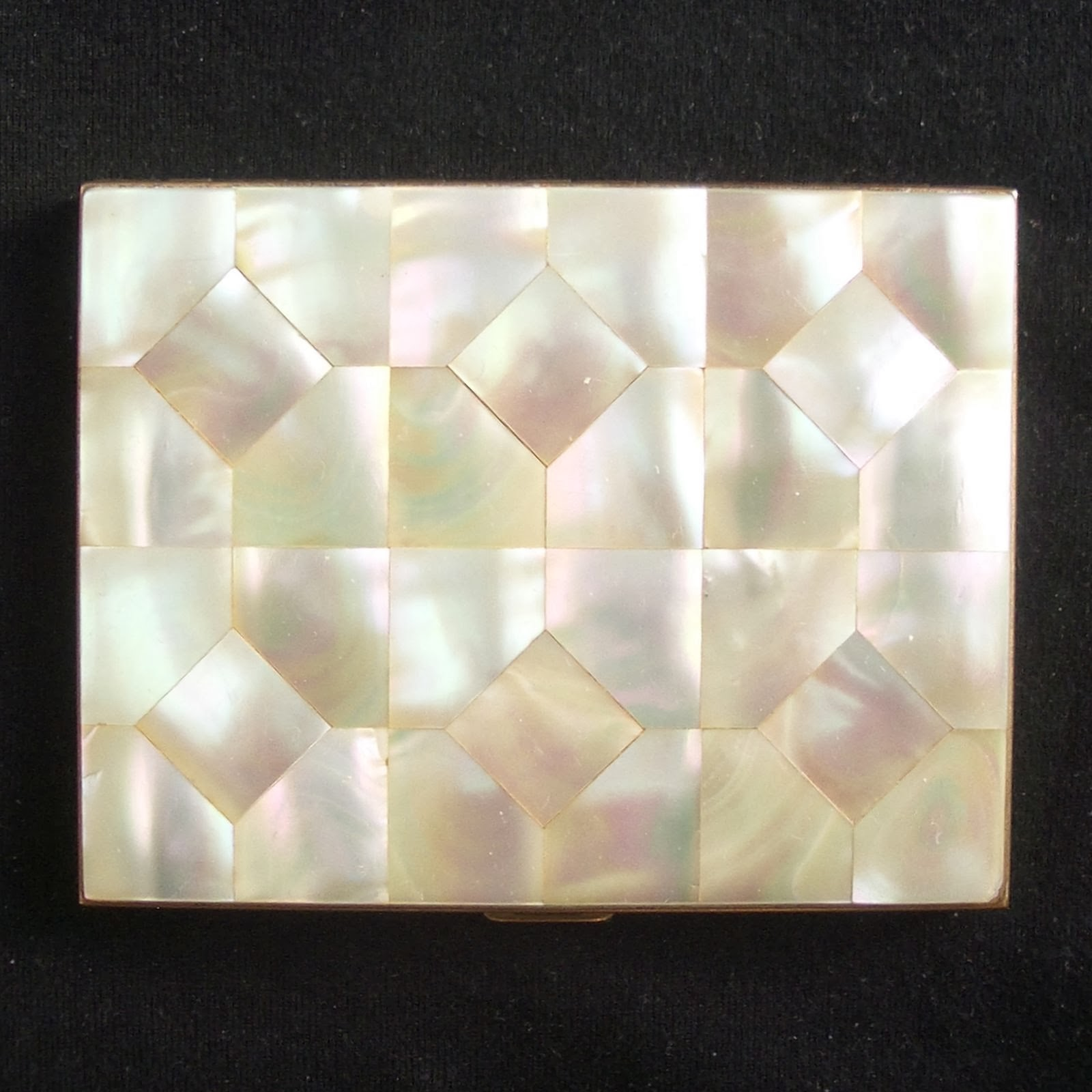 Collectibles Vintage Antique: Cigarette Case Mother of Pearl ...