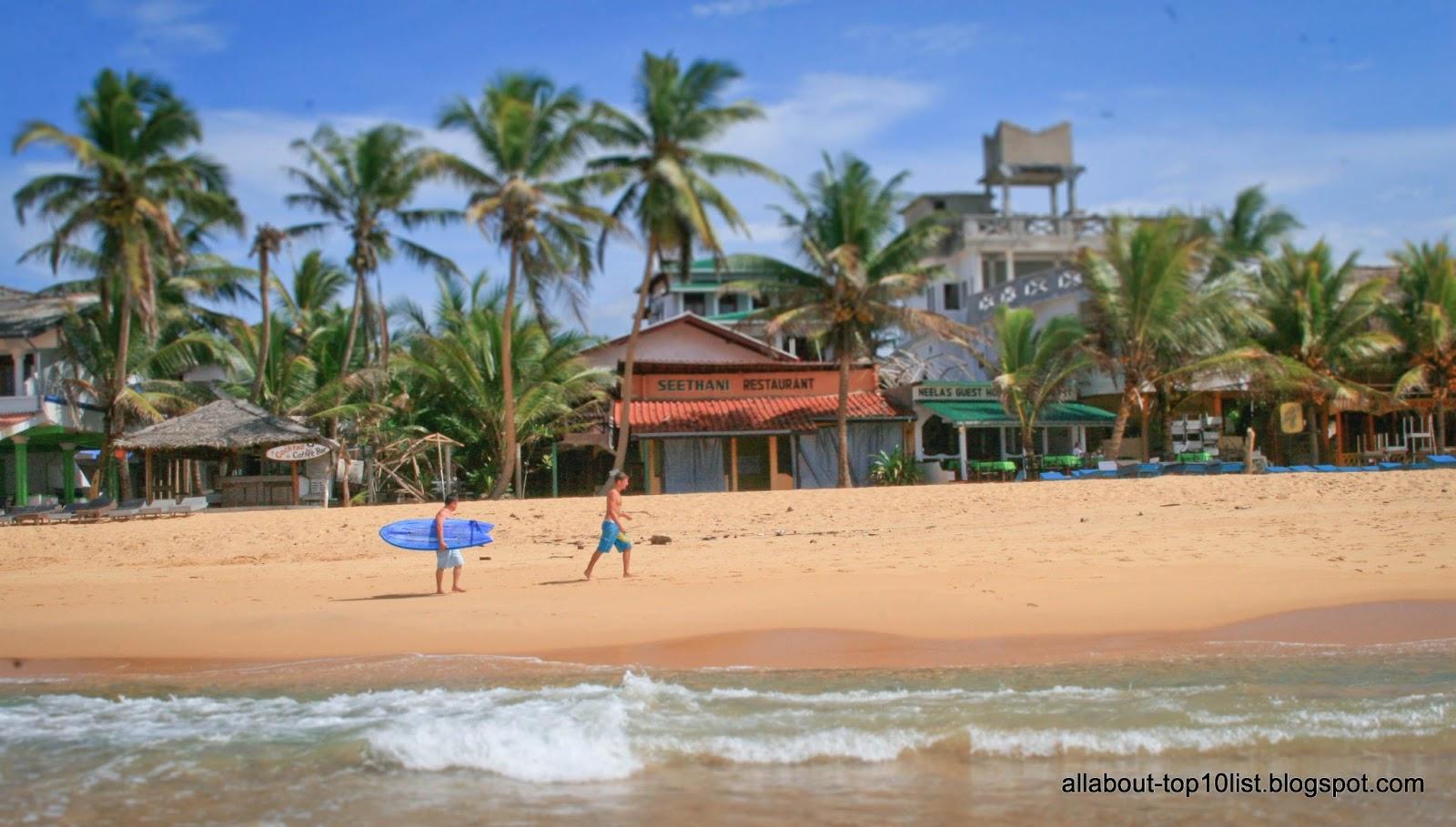 Hikkaduwa Sri Lanka  city pictures gallery : The amazing world of top10: Surfing, Hikkaduwa, Sri Lanka