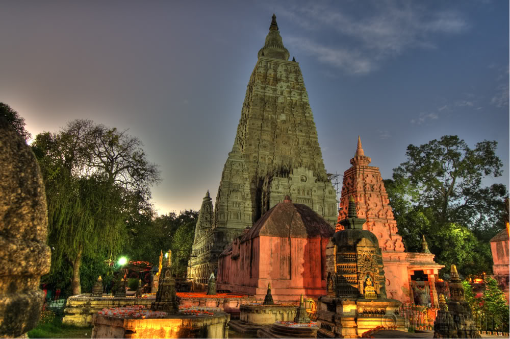 Gaya India  city photos gallery : Mahabodhi Temple, Bodh Gaya, Bihar ~ Popular Temples of India